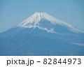 伊豆半島から望む富士山 82844973
