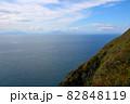 地球岬展望台より函館、北海道駒ケ岳を望む 82848119