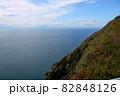 地球岬展望台より函館、北海道駒ケ岳を望む 別アングル 82848126