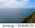 地球岬展望台より函館、北海道駒ケ岳を望む 別のアングル 82848130