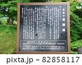 長篠城の説明板(愛知県新城市) 82858117