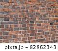 重厚感あるレンガの壁(引き) 82862343