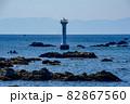 灯台を森戸大明神から見る 82867560
