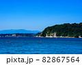 葉山港から見る海と海岸線 82867564
