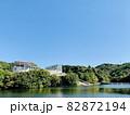 恩賜池と岡崎市美術博物館 (岡崎市中央総合公園/愛知県岡崎市) 82872194