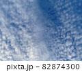 青空いっぱいに広がるいわし雲のような雲/The clouds in the sky 82874300
