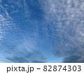 青空いっぱいに広がるいわし雲のような雲/The clouds in the sky 82874303