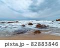 【新潟県日本海】冬の日本海 82883846