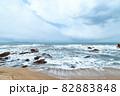 【新潟県日本海】冬の日本海 82883848