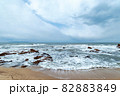 【新潟県日本海】冬の日本海 82883849