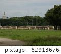 浪速の宮跡から見た教育の塔 【大阪城】 82913676