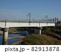 中川駅直前の有名な分岐点を撮影 【鉄道めぐり】 82913878