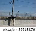 中川駅直前の有名な分岐点を撮影 【鉄道めぐり】 82913879