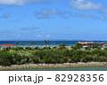 沖縄の海(慶良間諸島の見える風景) 82928356