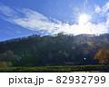山上の長野県千曲市の森将軍塚古墳 82932799