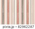 色変えもベクターで簡単生地感のあるストライプ模様 82962287