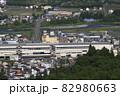 初夏の浦佐駅西口(俯瞰) 82980663