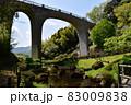 神奈川県立七沢森林公園 森のかけはしとあやめ池と新緑 83009838