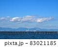 秋晴れの大野町海岸 83021185