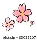 桜の和風イラスト 83029207
