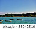 茨城県水戸市 千波湖のボート2−2 83042510