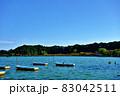 茨城県水戸市 千波湖のボート2−1 83042511