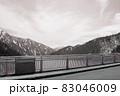 アルペンルート黒部ダム 83046009