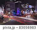【大阪】梅田の夜景とイルミネーションと軌跡 83056983