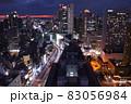 【大阪】梅田第三ビル展望台からの夜景と軌跡 83056984