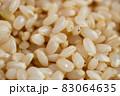 発芽玄米(水につけて発芽させた玄米。栄養素がアップ)、日本の有機玄米使用 83064635