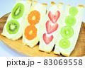 4種類のフルーツサンド 83069558