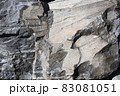 戸崎海岸の岩をクローズアップして写す 83081051