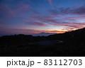 夕暮れの野反峠から弁天山 83112703
