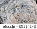 戸崎海岸の岩をクローズアップして写す 83114148