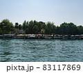 Boat pier near hotel in Turkey shot 83117869