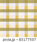 シンプルな黄色いチェックの背景イメージ 83177507