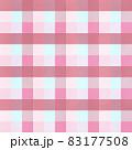 シンプルなピンクチェックの背景イメージ 83177508