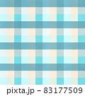 シンプルな青いチェックの背景イメージ 83177509