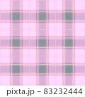 おしゃれなピンクタータンチェックの背景イメージ 83232444