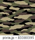 迷彩やカモフラ柄の背景イメージ 83380395