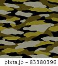 迷彩やカモフラ柄の背景イメージ 83380396