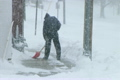 Man Shoveling Snow 2613880