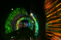China, Shanghai, The Bund, Bund sightseeing tunnel, slow shutter speed 2864423