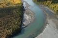 阿拉斯加的超低空天空照片·黃葉河-2 3142551