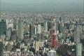 【空撮】東京タワーとスカイツリー 4081637