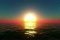 海 水平線 日の出の動画 4082630
