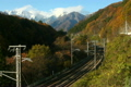 Suwa gorge of autumn leaves 4112854
