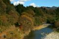 Late autumn Watase ravine railway 4112862