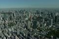 【空撮】東京タワー周辺とスカイツリー 4115120