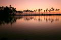 ハワイ島ワイコロア・ビーチ・リゾートの夕暮れ 5138320